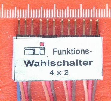 Funktions-Wahlschalter 4x2
